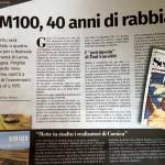 Article paru dans le supplément Settimana de Corse-matin. Semaine du 24 au 30 juillet